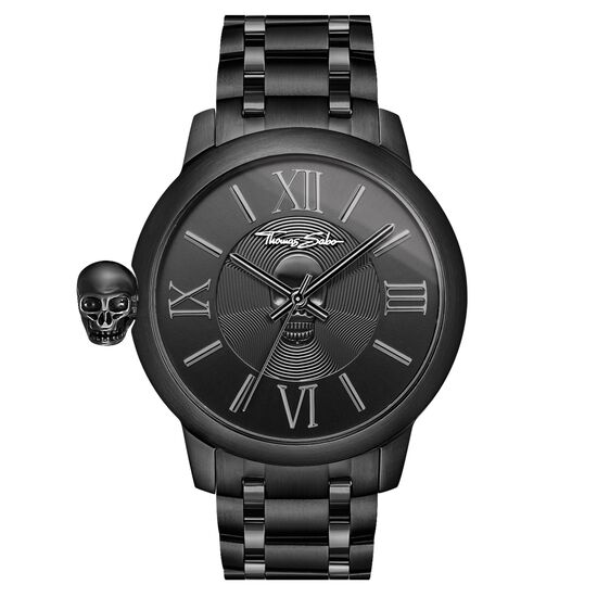 herrenuhr rebel with karma wa0305 herren thomas sabo schweiz. Black Bedroom Furniture Sets. Home Design Ideas