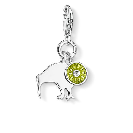 "Charm pendant ""kiwi"" from the  collection in the THOMAS SABO online store"