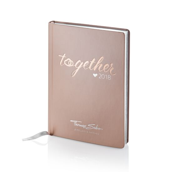 Pocket diary 2018 from the  collection in the THOMAS SABO online store