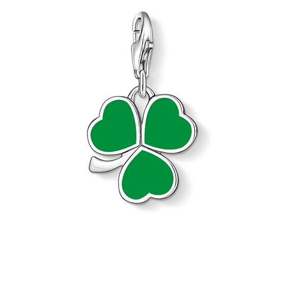 "ciondolo Charm ""trifoglio irlandese"" from the  collection in the THOMAS SABO online store"