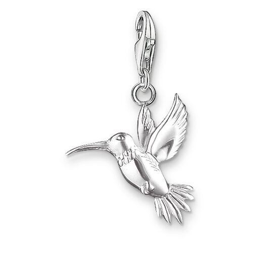 "Charm pendant ""hummingbird"" from the  collection in the THOMAS SABO online store"