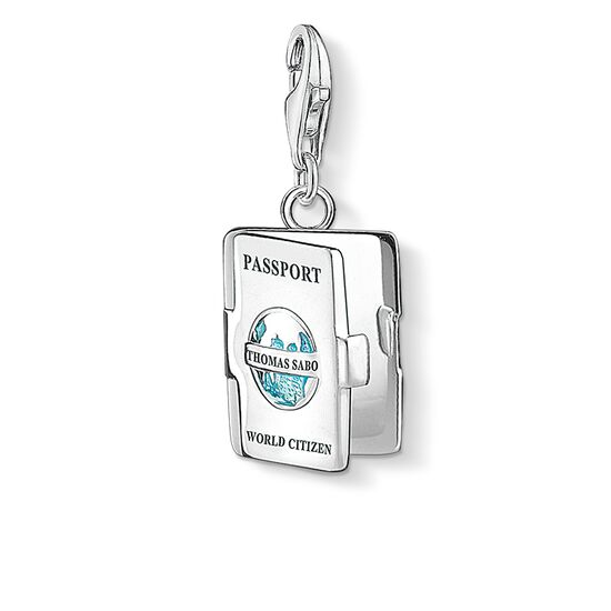 "Charm pendant ""passport"" from the  collection in the THOMAS SABO online store"