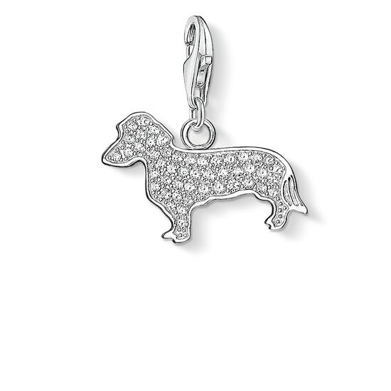 "Charm pendant ""dog dachshund"" from the  collection in the THOMAS SABO online store"