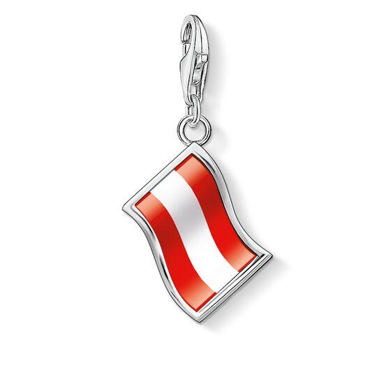 """pendentif Charm """"drapeau Autriche"""" de la collection  dans la boutique en ligne de THOMAS SABO"""