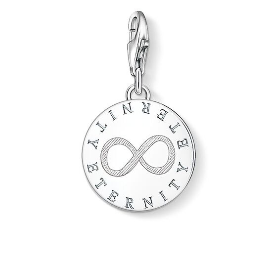 "ciondolo Charm ""ETERNITY"" from the  collection in the THOMAS SABO online store"
