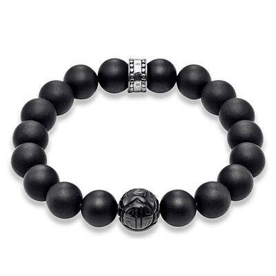 bracelet obsidian a1085 men thomas sabo usa. Black Bedroom Furniture Sets. Home Design Ideas