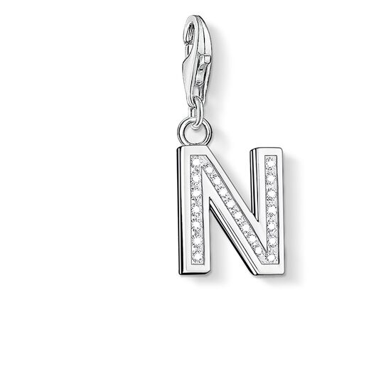 "Charm pendant ""letter N"" from the  collection in the THOMAS SABO online store"