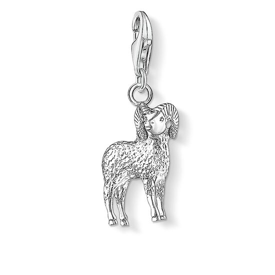 "Charm pendant ""zodiac sign Aries"" from the  collection in the THOMAS SABO online store"