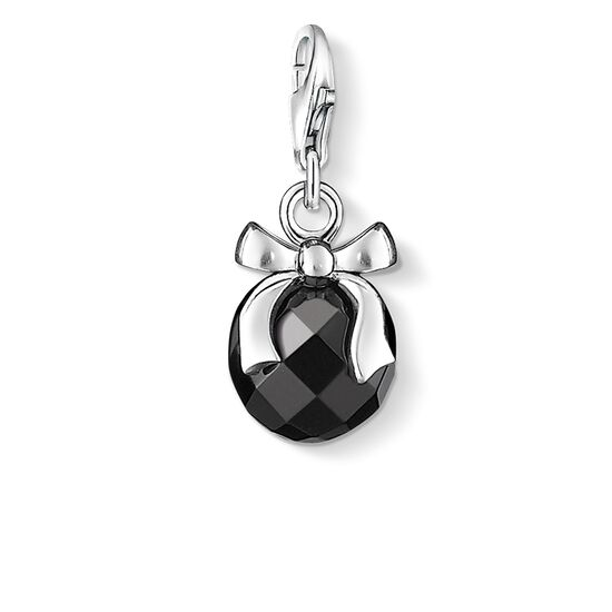 "Charm pendant ""stone with bow"" from the  collection in the THOMAS SABO online store"