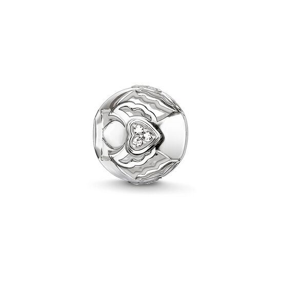 "Bead ""guardian angel with heart"" from the Karma Beads collection in the THOMAS SABO online store"
