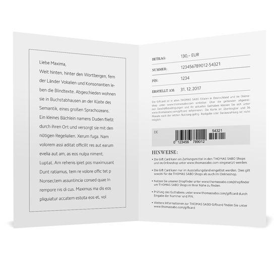 Gift Card PDF aus der  Kollektion im Online Shop von THOMAS SABO
