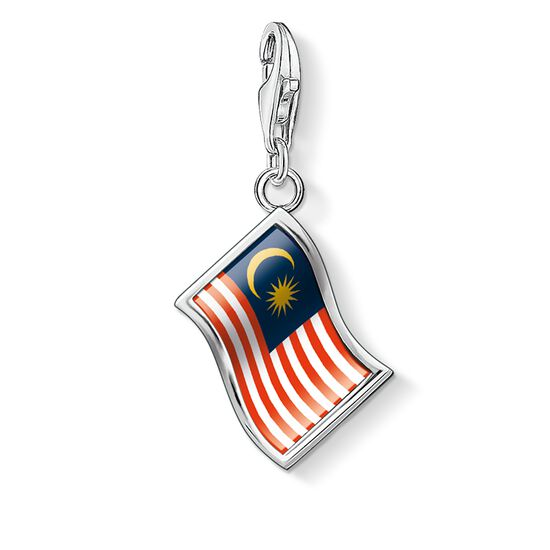 "Charm pendant ""flag Malaysia"" from the  collection in the THOMAS SABO online store"