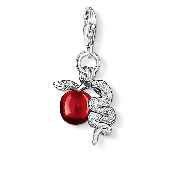 "Charm pendant ""apple with snake"" from the  collection in the THOMAS SABO online store"