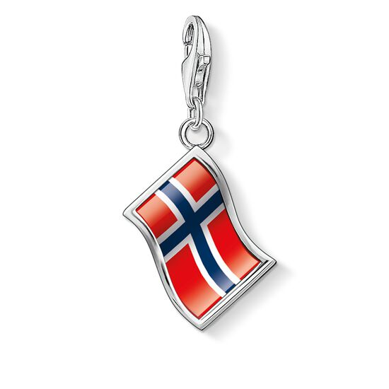 "ciondolo Charm ""bandiera Norvegia"" from the  collection in the THOMAS SABO online store"