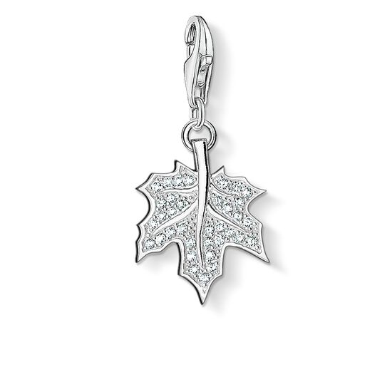 "Charm pendant ""leaf"" from the  collection in the THOMAS SABO online store"
