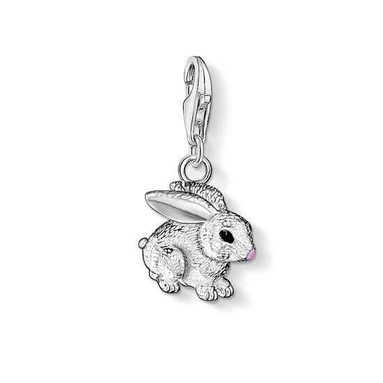 "Charm pendant ""rabbit"" from the  collection in the THOMAS SABO online store"