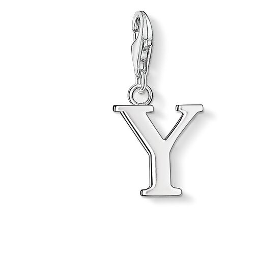 "Charm pendant ""letter Y"" from the  collection in the THOMAS SABO online store"