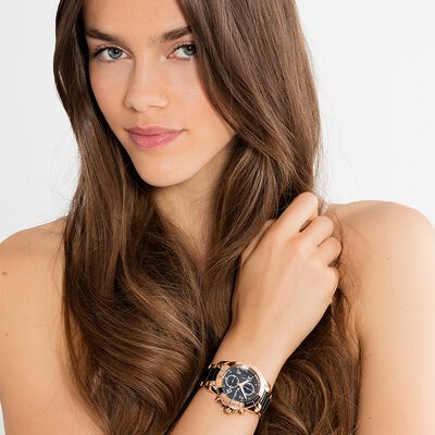 "Women's Watch ""GLAM CHRONO"" from the Glam & Soul collection in the THOMAS SABO online store"