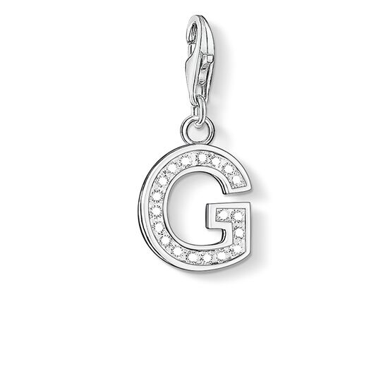 "Charm pendant ""letter G"" from the  collection in the THOMAS SABO online store"