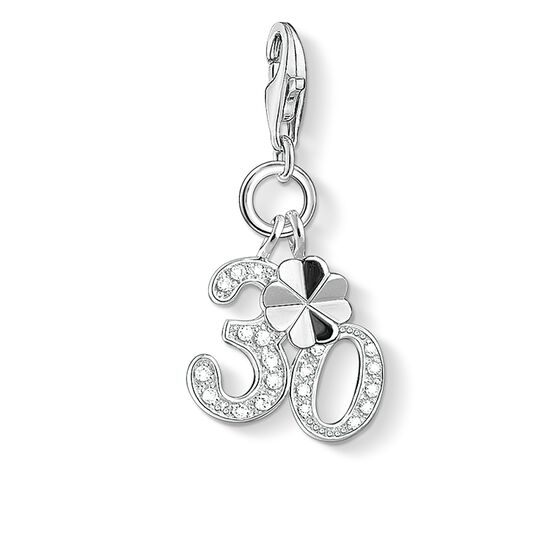 "Charm pendant ""30"" from the  collection in the THOMAS SABO online store"
