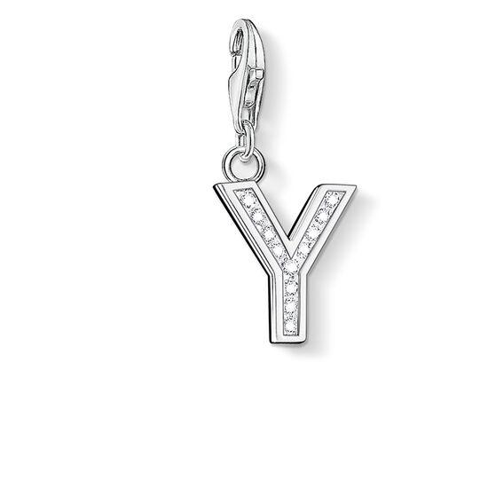 """colgante Charm """"letra Y"""" de la colección  en la tienda online de THOMAS SABO"""