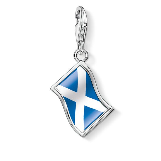"Charm pendant ""flag Scotland"" from the  collection in the THOMAS SABO online store"