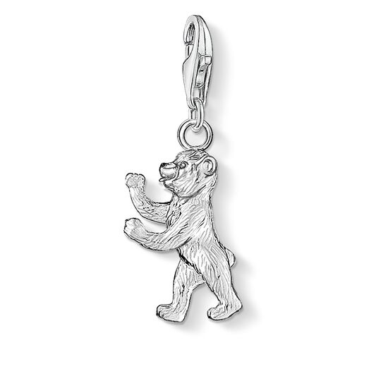 """ciondolo Charm """"orso di Berlino"""" from the  collection in the THOMAS SABO online store"""