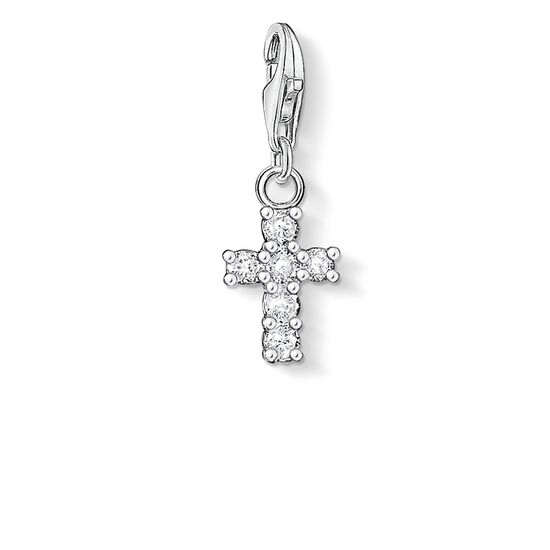 "Charm pendant ""cross"" from the  collection in the THOMAS SABO online store"