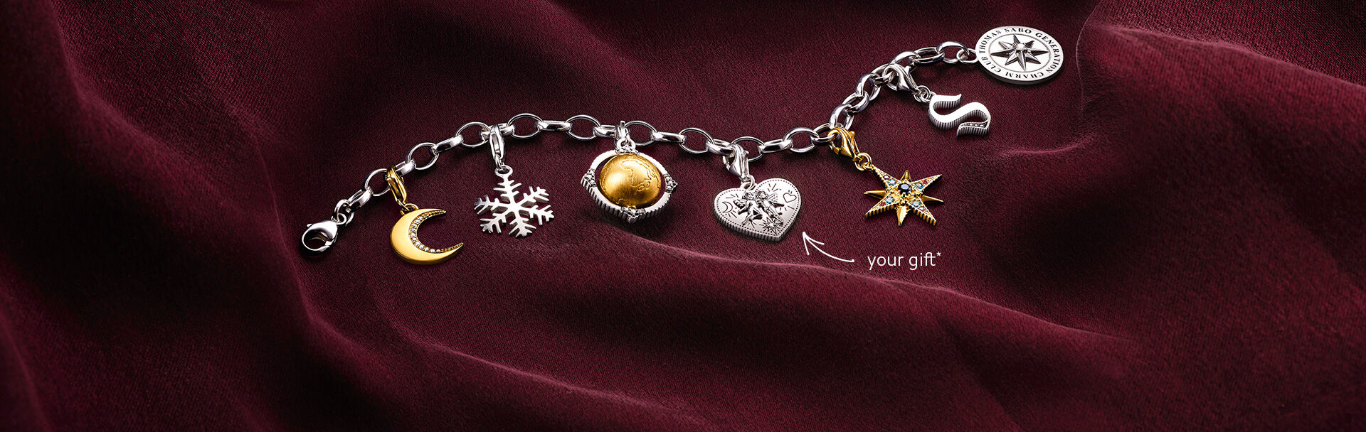 Jewellery Watches Fragrances Thomas Sabo Online Shop Tendencies Caps White Way Of Life Cap Putih Charm As A Gift