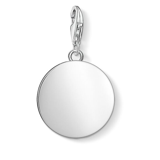 """Charm pendant """"disc"""" from the  collection in the THOMAS SABO online store"""