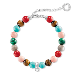 "Charm bracelet ""Multicoloured"" from the  collection in the THOMAS SABO online store"