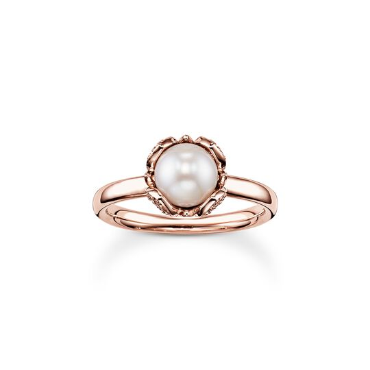 pearl ring Lotos Blossom from the  collection in the THOMAS SABO online store