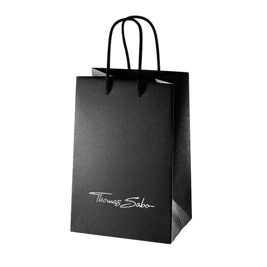 Papiertragetasche klein schwarz DK41 aus der  Kollektion im Online Shop von THOMAS SABO