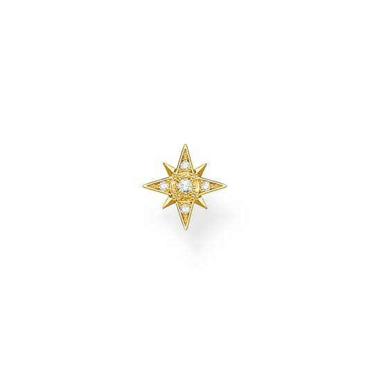 Einzel Ohrstecker Stern gold aus der Charming Collection Kollektion im Online Shop von THOMAS SABO