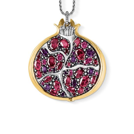 Pendant on chain pomegranate from the Glam & Soul collection in the THOMAS SABO online store