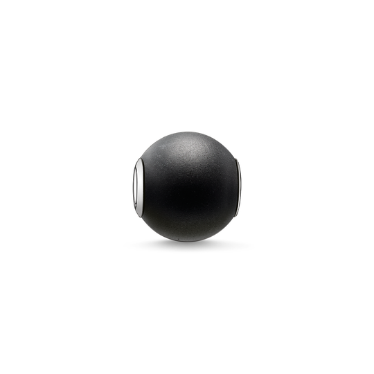 Bead obsidian matt from the Karma Beads collection in the THOMAS SABO online store