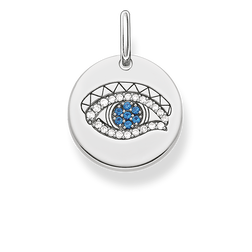 "pendant ""eye of Horus disc"" from the Love Bridge collection in the THOMAS SABO online store"