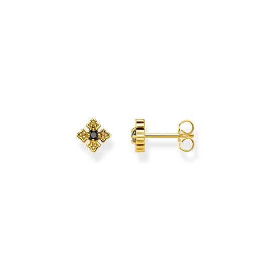Ear studs royalty gold from the  collection in the THOMAS SABO online store