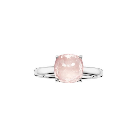 solitair ring pink from the Glam & Soul collection in the THOMAS SABO online store