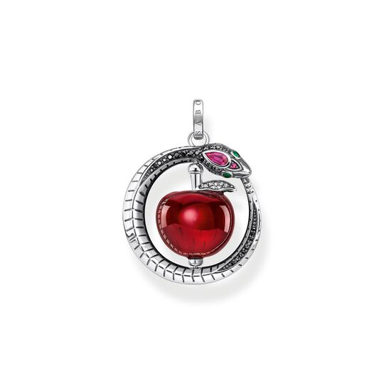 Pendant apple with snake silver from the  collection in the THOMAS SABO online store