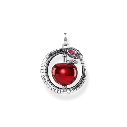 Pendant apple with snake silver from the Glam & Soul collection in the THOMAS SABO online store