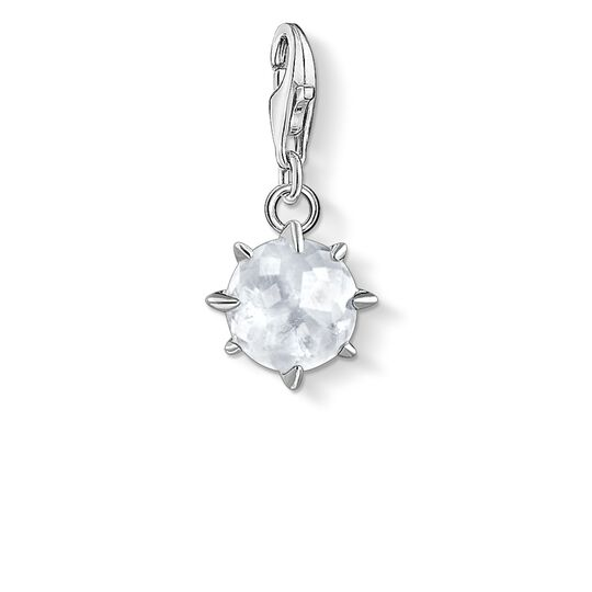 Charm pendant birth stone April from the Charm Club collection in the THOMAS SABO online store