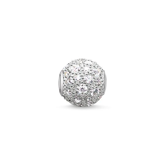 Bead white crushed pavé from the Karma Beads collection in the THOMAS SABO online store