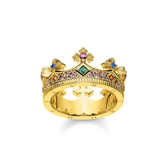 ring crown gold from the  collection in the THOMAS SABO online store