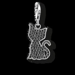 """pendentif Charm """"chat noir"""" de la collection  dans la boutique en ligne de THOMAS SABO"""