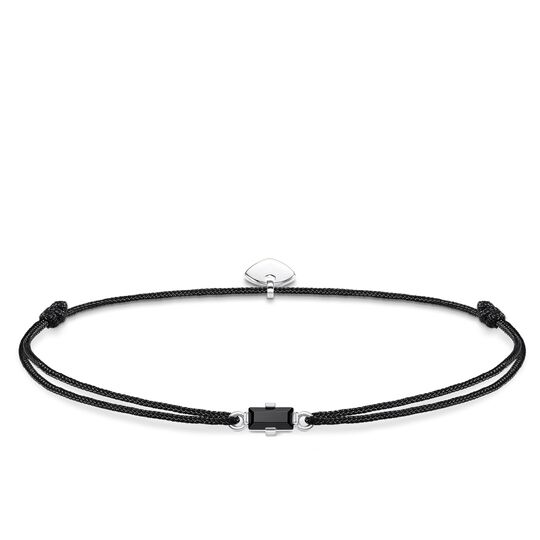bracelet Little Secret Black stone Baguette cut from the Glam & Soul collection in the THOMAS SABO online store