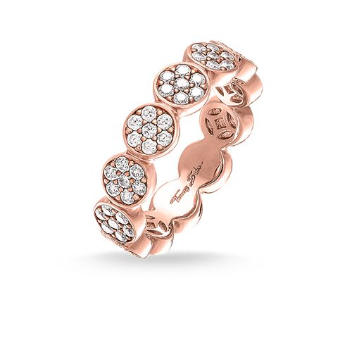 "ring ""Sparkling Circles"" from the Glam & Soul collection in the THOMAS SABO online store"