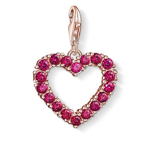 colgante Charm corazón rojo de la colección  en la tienda online de THOMAS SABO