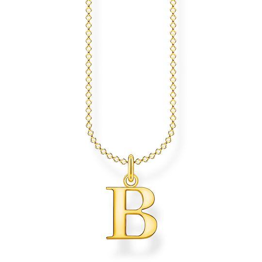 Kette Buchstabe B gold aus der Charming Collection Kollektion im Online Shop von THOMAS SABO
