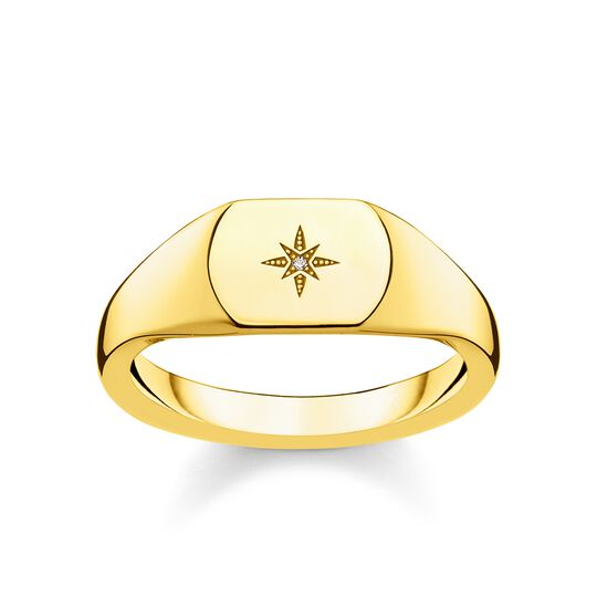 ring vintage star gold from the  collection in the THOMAS SABO online store